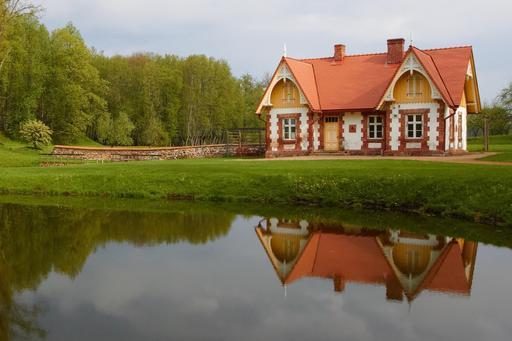 Manoir de Luke en Estonie