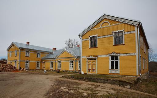 Manoir de Sänna en Estonie
