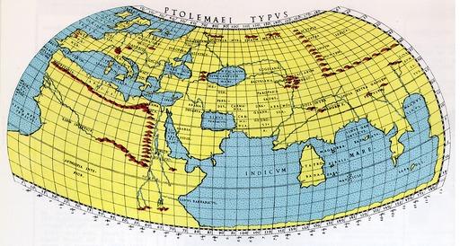 Mappemonde de Ptolémée