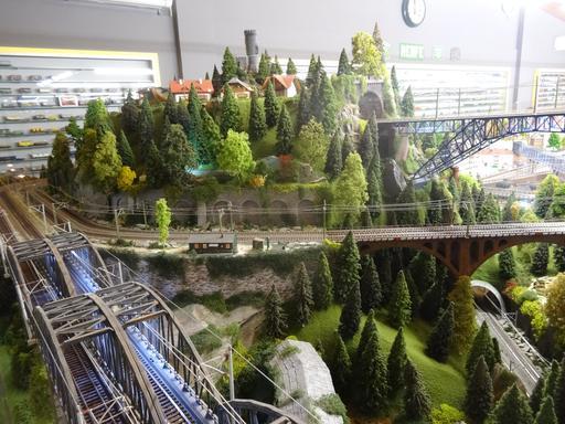 Maquette au musée du rail