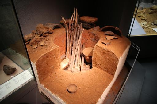 Maquette de four de potier gaulois