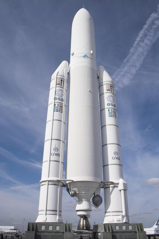 Maquette de la fusée Ariane 5