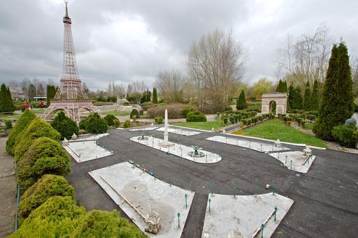 Maquette de la Place de la Concorde à France Miniature