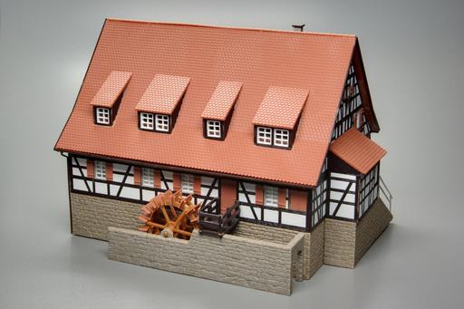 Maquette de moulin à eau