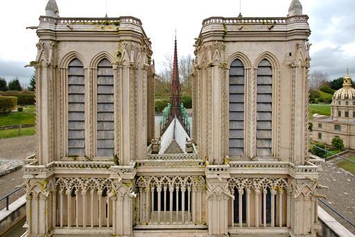 Maquette de Notre-Dame de Paris à France Miniature