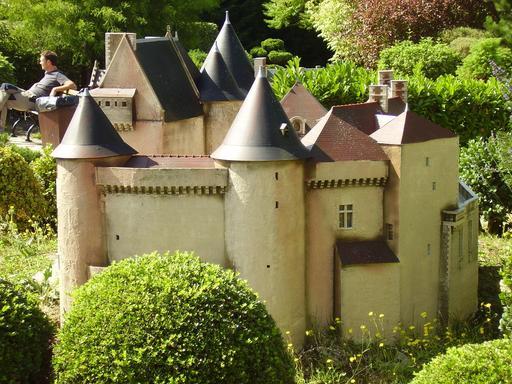 Maquette du château du Bouchet en Brenne