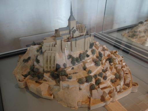 Maquette du Mont-Saint-Michel