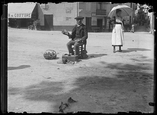 Marchand de gentiane en 1897