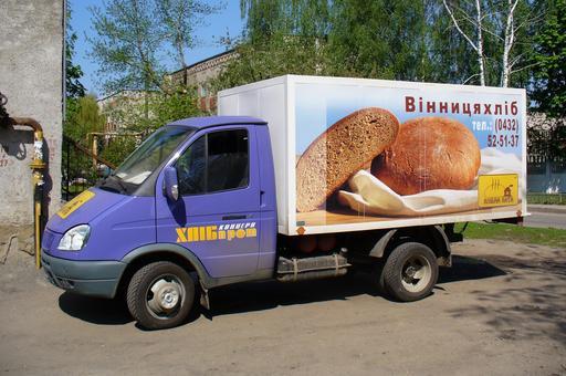 Marchand de pain en camion