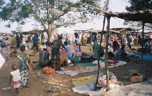 Marché de Farafenni en Gambie