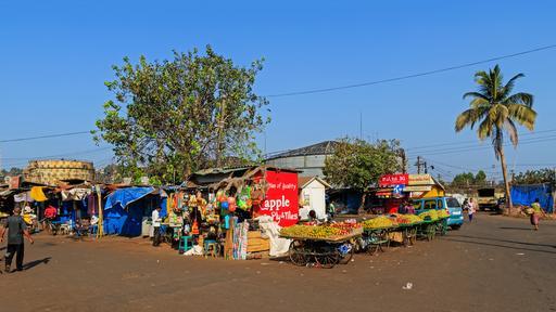 Marché de Goa-Vasco en Inde