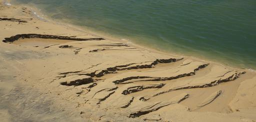 Marée descendante au Moulleau