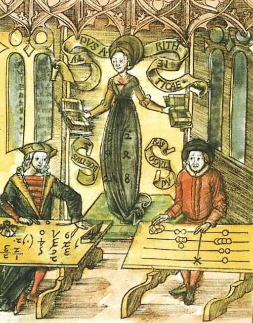 Margarita Philosophica - Arithmetica, 1508