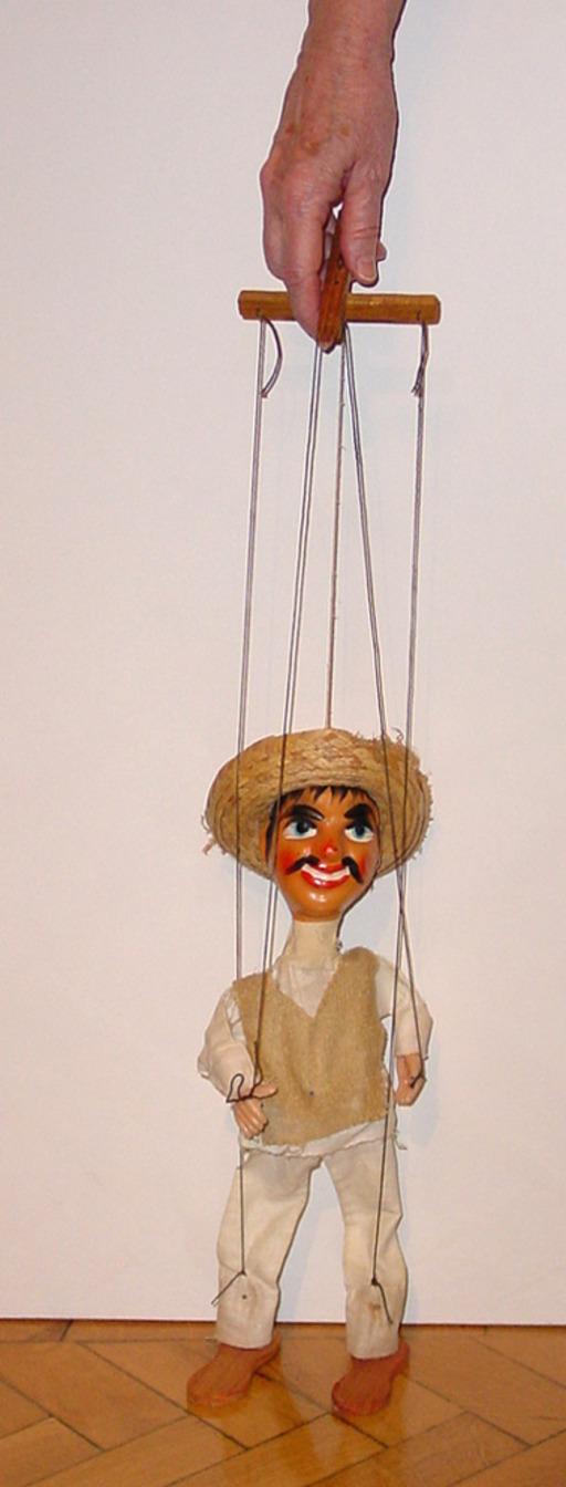 Marionnette à fil mexicaine