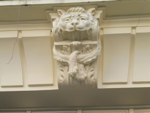 Mascaron art déco à Paris