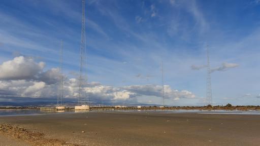Mats de transmission de la BBC à Chypre