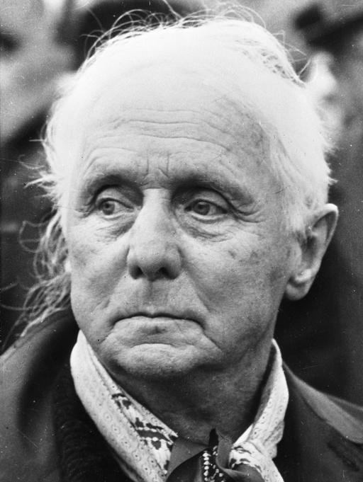 Max Ernst en avril 1976