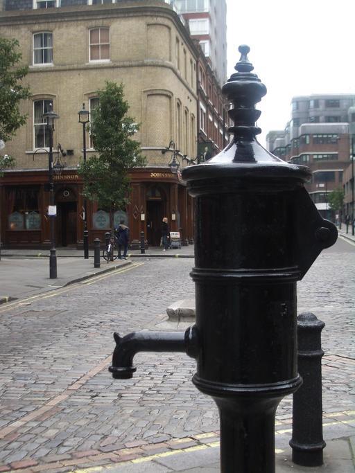 Mémorial de John Snow à Londres