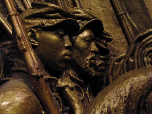 Mémorial de l'armée afro-américaine en 1897