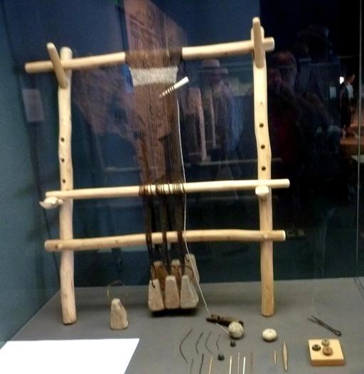 Métier à tisser gallo-romain à Burdigala