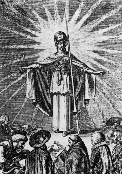 Minerve et la tolérance en 1791