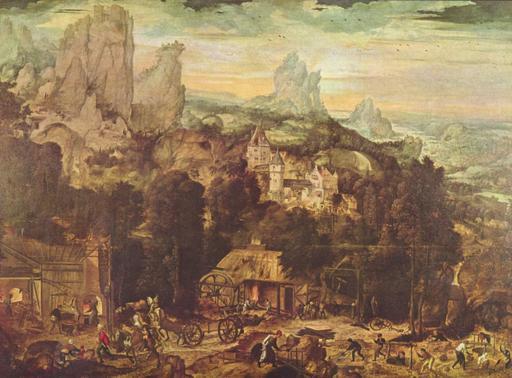 Mines de cuivre au 16ème siècle