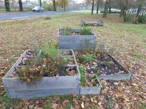 Mini jardin public  à Mérignac