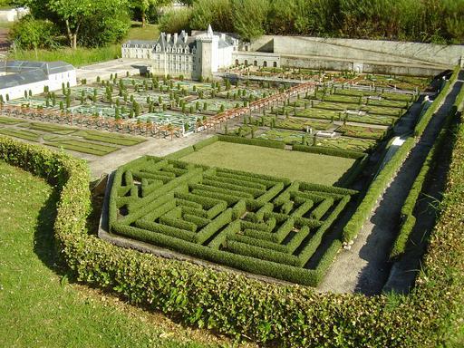 Mini-Jardins du Château de Villandry
