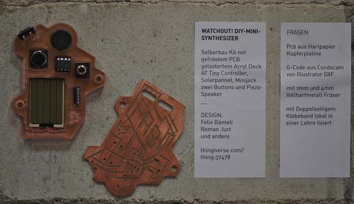 Mini synthétiseur
