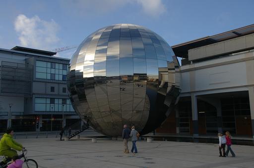 Miroir du planétarium de Bristol