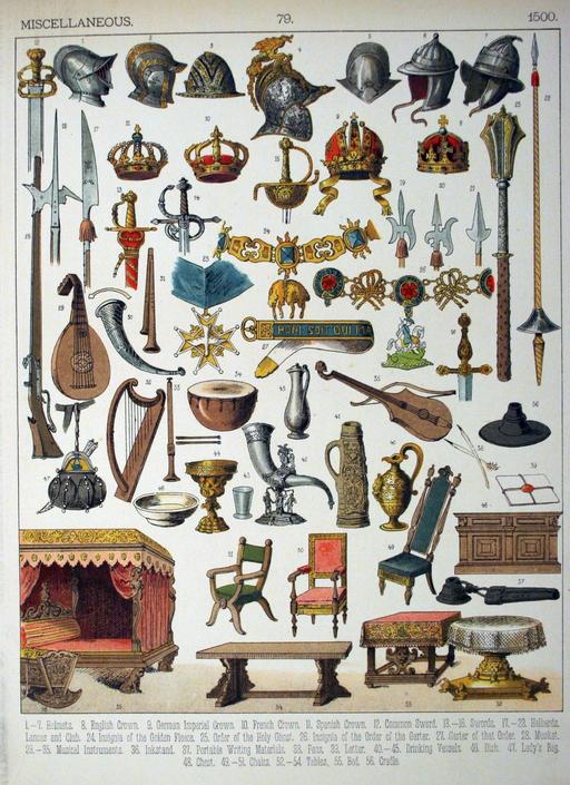 Mobilier du seizième siècle