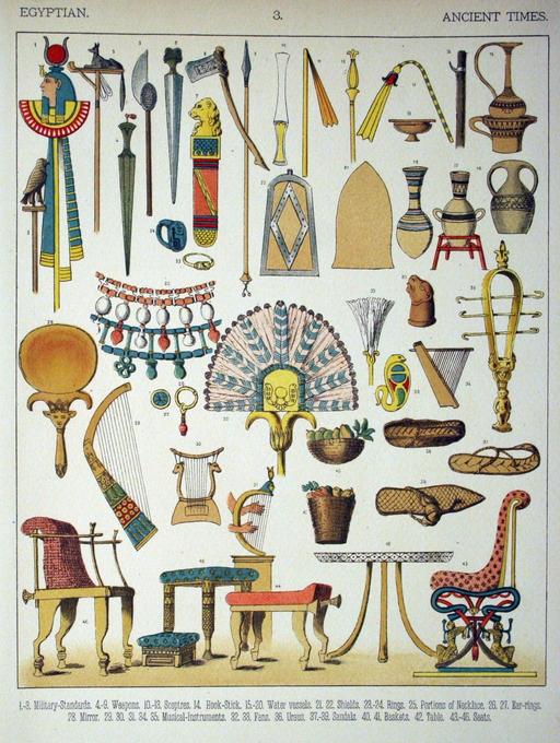 Mobilier égyptien ancien