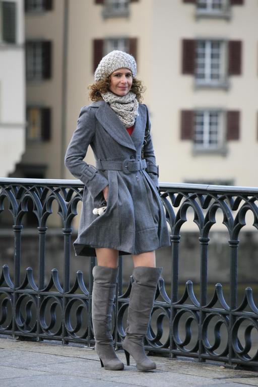 Mode d'hiver à Zurich