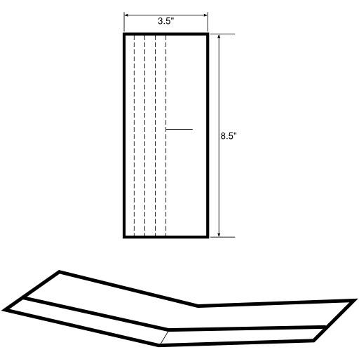 Modèle de planeur en papier