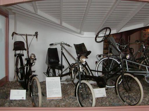 Modèles de vélos couchés de 1920