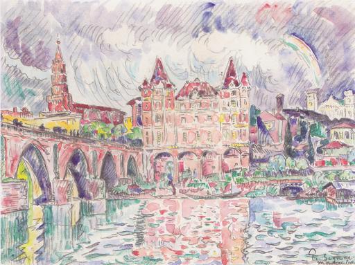 Montauban sous la pluie