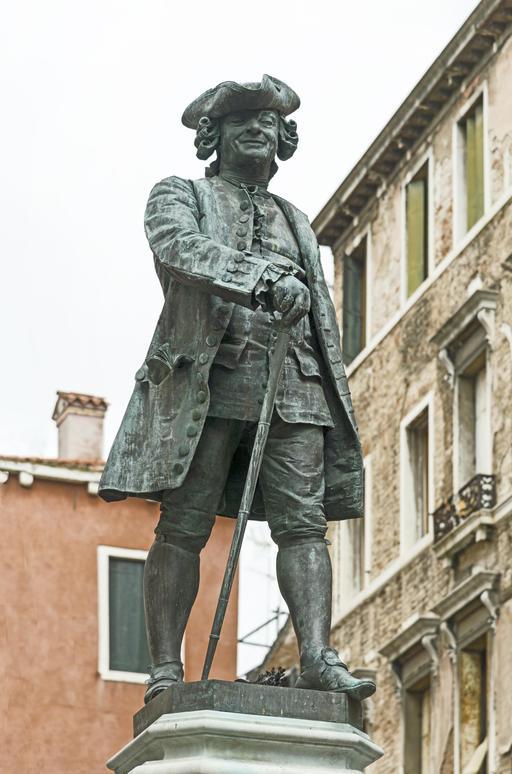 Monument à Carlo Goldoni à Venise