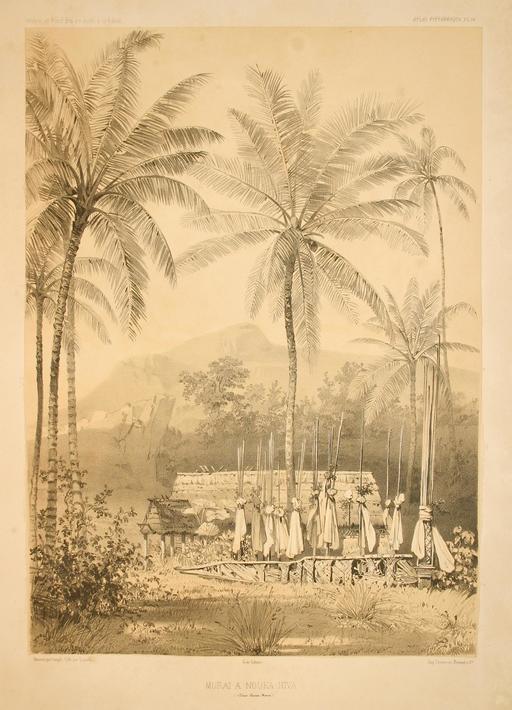 Moraï à Nouka-Hiva en 1838