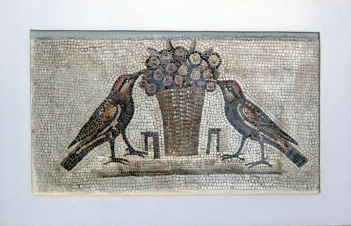 Mosaïque des oiseaux de Sousse