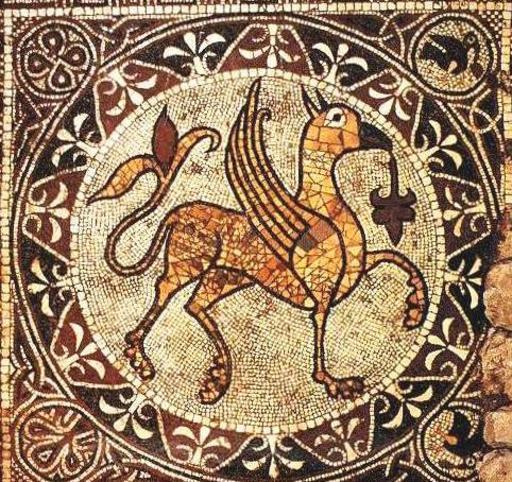 Mosaïque du Griffo  de Bitonto