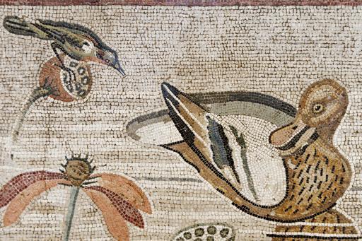 Mosaïque du Nil à Pompéi