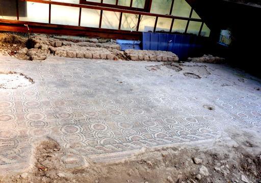 Mosaïque géométrique de Loupiac-33