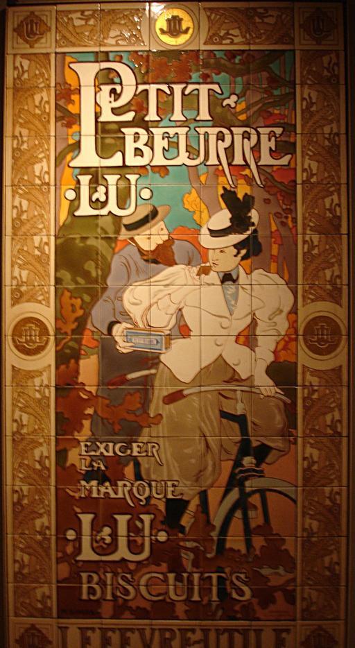 Mosaïque LU de 1900