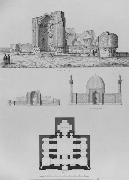 Mosquée de Sunni à Tauris