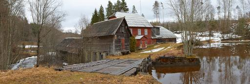 Moulin à eau en Estonie