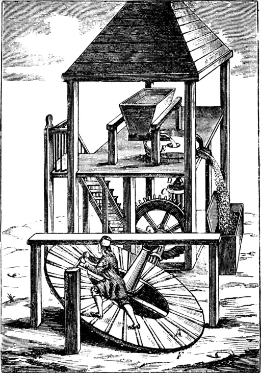 Moulin à tapis roulant