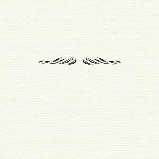 Moustache crayon