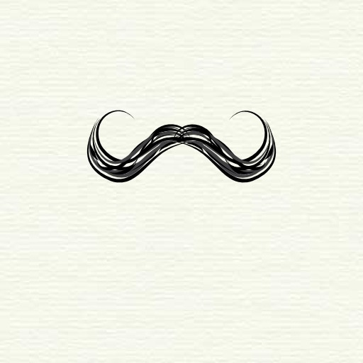 Moustache en guidon