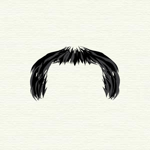 Moustache en sabot