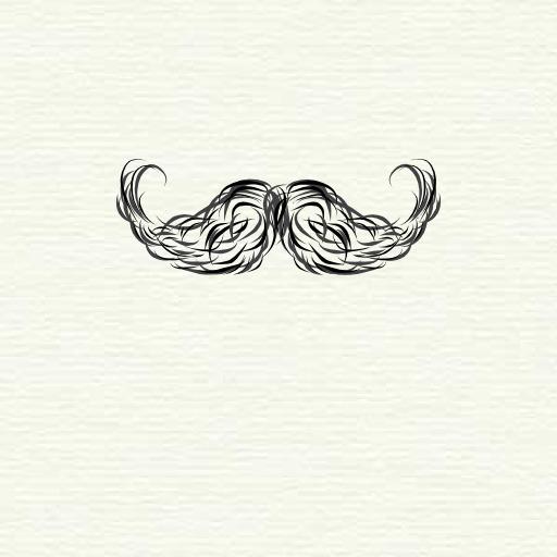 Moustache naturelle